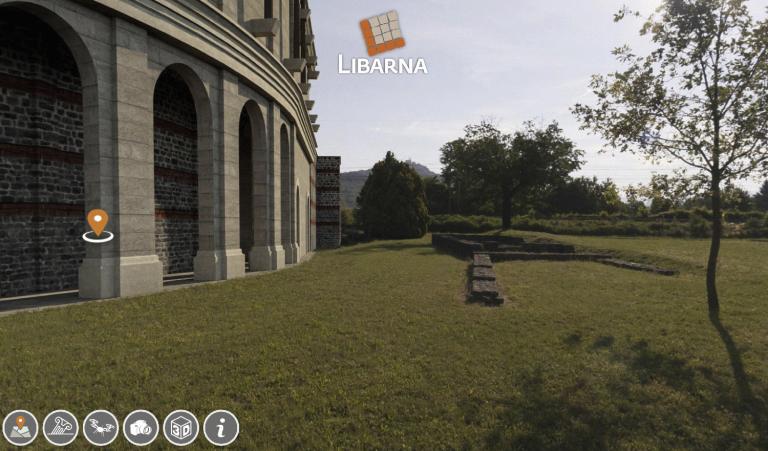 Libarna, il tour virtuale